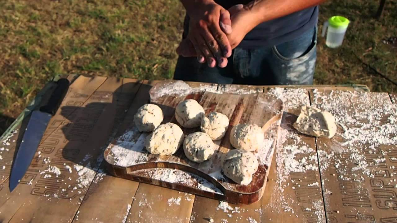 Multigrain Bread Rolls - Camp Oven Cooking